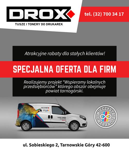 DROX - wspieramy lokalnych przedsiębiorców